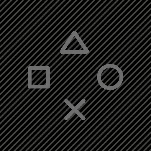 controls, games, gaming, playstation, ps3, ps4 icon