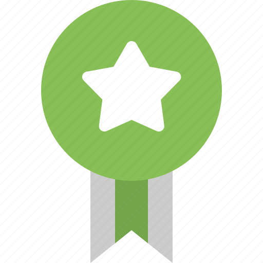 achievement, badge, favorite, game star, reward icon