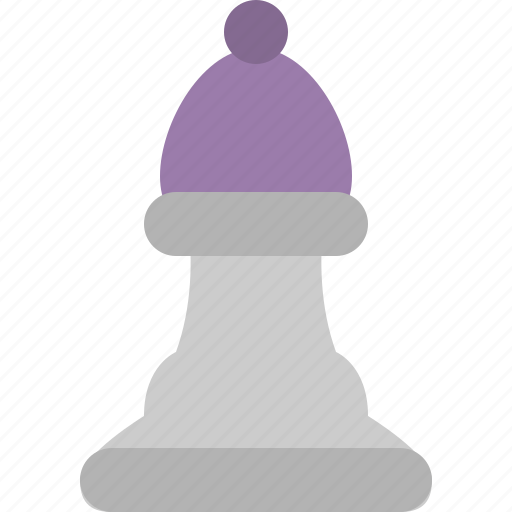 bishop, chess, chess piece, pawn icon
