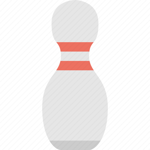 bowling, pin, recreational pin, spare pin icon