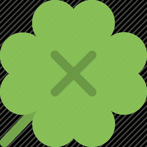 clover, four leaf clover, luck, lucky clover icon