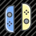 gaming, joystick, nintendo, switch icon