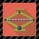 automotive, car, car jack, repair, service, tool, transport icon