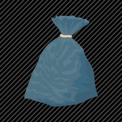 bag, cartoon, dump, ecology, garbage, plastic, trash icon