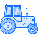 agriculture, farm, garden, grass, lawn, mower, nature icon