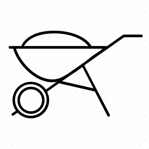 cart, equipment, farm, farming, garden, gardenting, tools icon