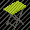 balcony, folding, garden, rest, table, terrace, wooden
