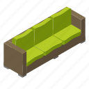 balcony, furniture, garden, rest, sofa, terrace, wooden icon