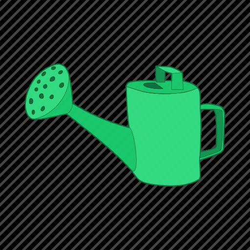 Can Cartoon Equipment Garden Gardening Tool Water Icon