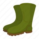 art, boot, cartoon, gumboots, plastic, rubber, weather icon