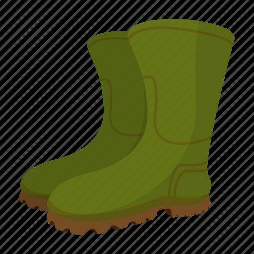 art, boot, cartoon, gumboots, plastic, rubber, weather icon