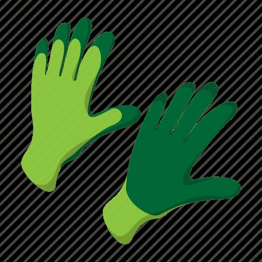 cartoon, cold, fashion, glove, hand, tool, wear icon
