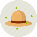 garden, garden care, hat, sun icon