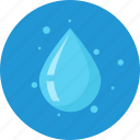 cool, garden, pure, vitality, water icon