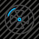 fan, garden, gardening, greenery icon