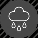 cloud, weather, garden, gardening, greenery