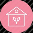 building, garden, gardening, greenery, home, house icon