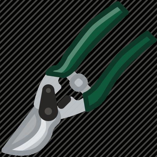farm, garden, gardening, pruning, scissors, tool, yumminky icon