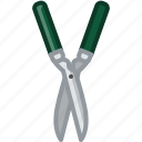 cutting, garden, gardening, pruning, scissors, tool, yumminky icon