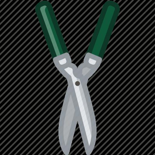 cutting, garden, gardening, pruning, scissors, tool, yumminky icon