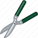 farm, garden, gardening, pruning, scissors, tool, yumminky icon