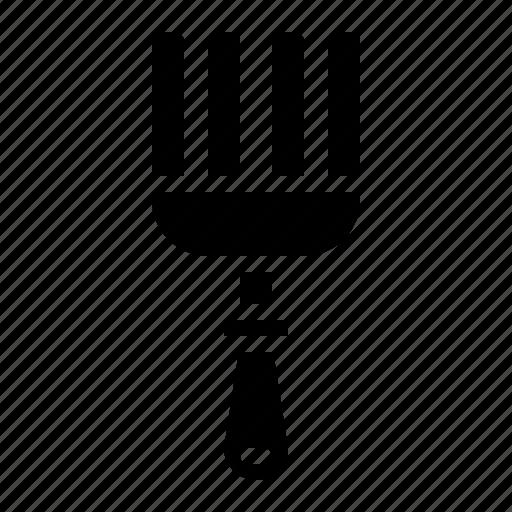 farming, fork, gardening, rake icon