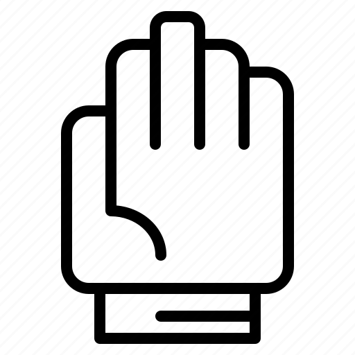 glove, gloves, gym, protection icon