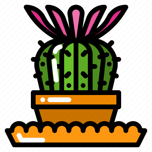 Cactus, floral, flower, plant, succulent icon - Download on Iconfinder