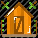 building, garden, hut, shed, storage