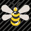 animal, bee, bug, flower, honey