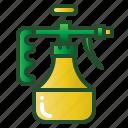 bottle, container, foggy, hygiene, spray, sprayer