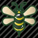 animal, bee, bug, flower, honey icon