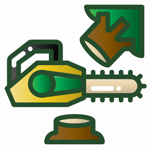 chainsaws, cut, saw, timber, tool icon