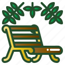 benches, chair, furniture, garden, park, seat icon
