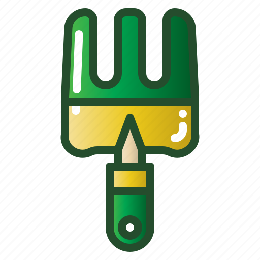 agriculture, equipment, fork, gardening, tool icon
