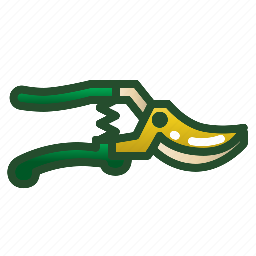 cutter, gardening, pruners, scissors, tool icon