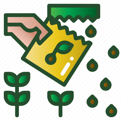 natural, nutrition, organic, seeds, vegetarian icon
