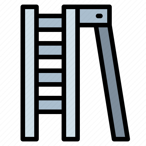 construction, home, improvement, ladder, repair icon