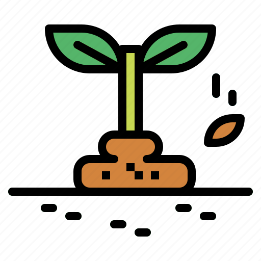 growing, seed, seeding, seeds, sprout icon
