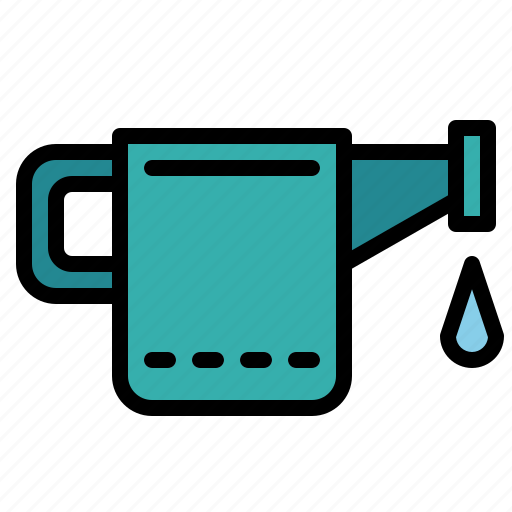 can, garden, water, watering icon