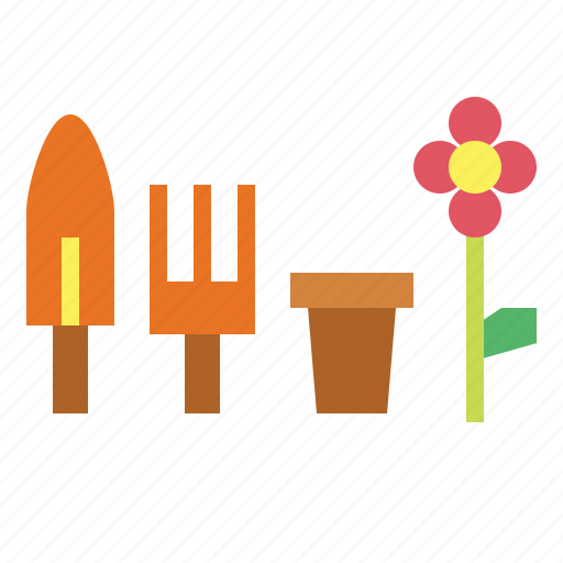 garden, tools, yard icon
