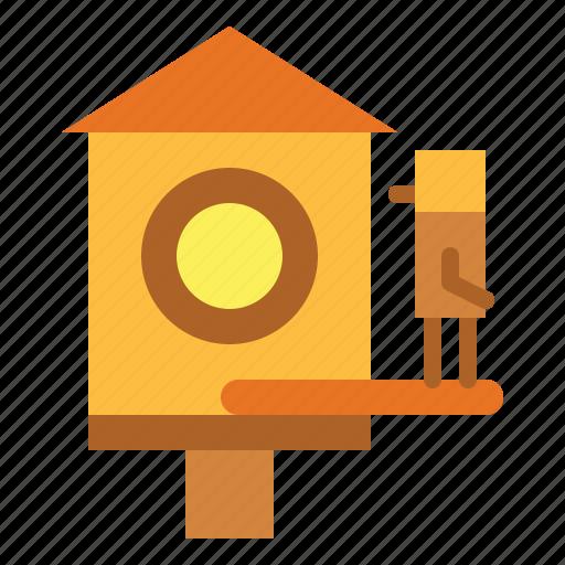 birdhouse, birds, garden, pet icon