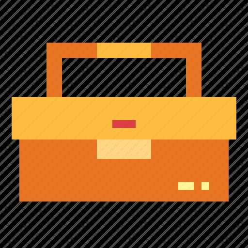 carpentry, home, repair, tool, toolbox icon