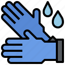 construction, fashion, glove, gloves, protection, safety icon