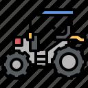 bulldozer, car, construction, industry, tarctor, transportation, truck