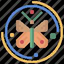 entomology, farming, garden, gardening, moths, wings icon
