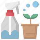 bottle, miscellaneous, spray, sprayer, water, watering icon