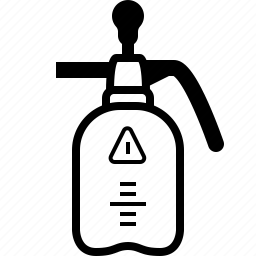 atomizer, fertilizer, garden, insecticide, pesticides, tool, yumminky icon