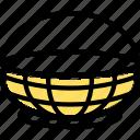 basket, garden, plant icon