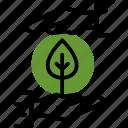ecology, gardening, plant icon